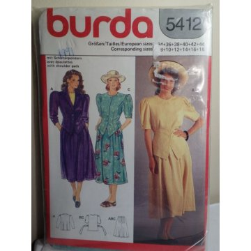 Burda Sewing Pattern 5412