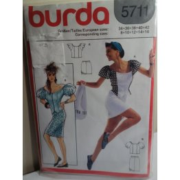 BURDA Sewing Pattern 5711