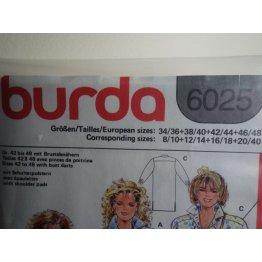 Burda Sewing Pattern 6025