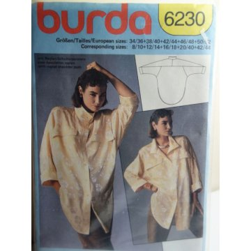 BURDA Sewing Pattern 6230