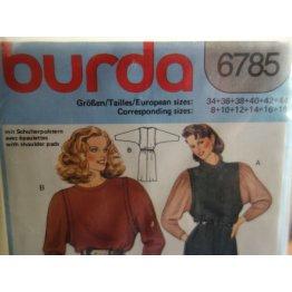 BURDA Sewing Pattern 6785