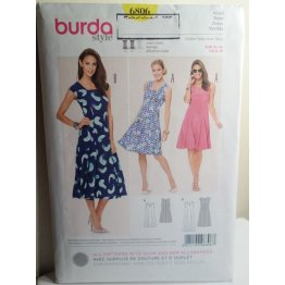 BURDA Sewing Pattern 6806