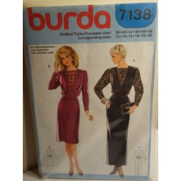 BURDA Sewing Pattern 7138