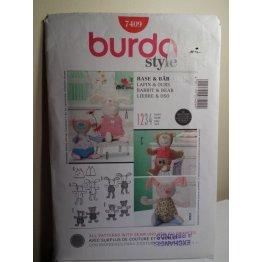 Burda Sewing Pattern 7409