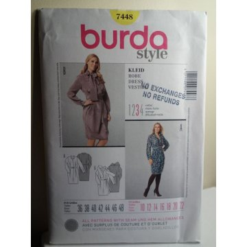 BURDA Sewing Pattern 7448