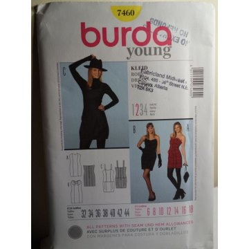 BURDA Sewing Pattern 7460