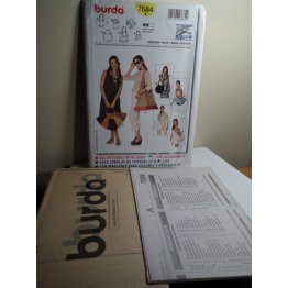 BURDA Sewing Pattern 7684