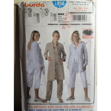 BURDA Sewing Pattern 7956