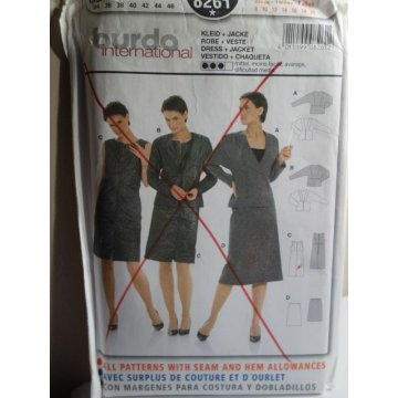 BURDA Sewing Pattern 8261