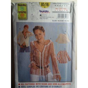 BURDA Sewing Pattern 8516