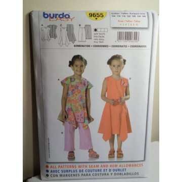 Burda Sewing Pattern 9655