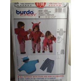 BURDA Sewing Pattern 9780