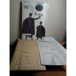 Butterick BATMAN Sewing Pattern 4172