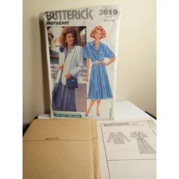 Butterick Sewing Pattern 3619