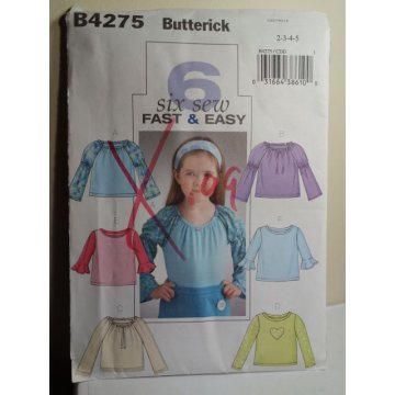 Butterick Sewing Pattern 4275