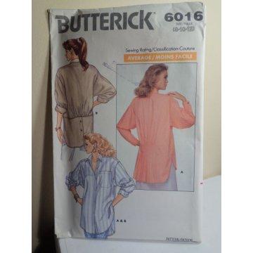 Butterick Sewing Pattern 6016