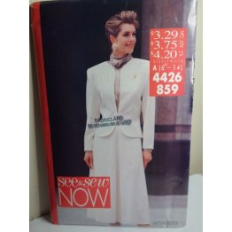 Butterick See and Sew Sewing Pattern 4426