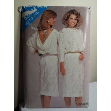 Butterick See and Sew Sewing Pattern 5348