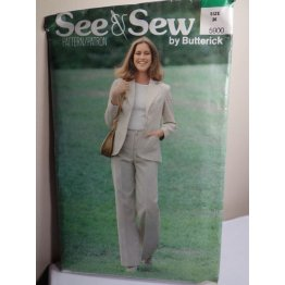 Butterick See and Sew Sewing Pattern 5900