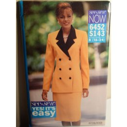 Butterick See and Sew Sewing Pattern 6452
