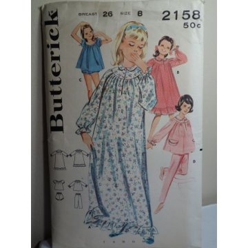 Butterick Sewing Pattern 2158