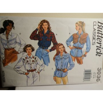 Butterick Sewing Pattern 3030