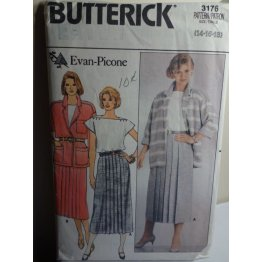 Butterick Evan Picone Sewing Pattern 3176