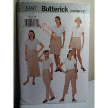 Butterick Sewing Pattern 3397