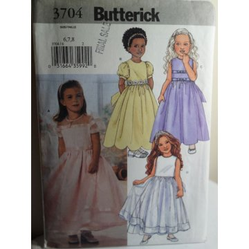 Butterick Sewing Pattern 3704