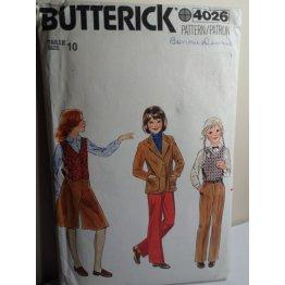Butterick Sewing Pattern 4026