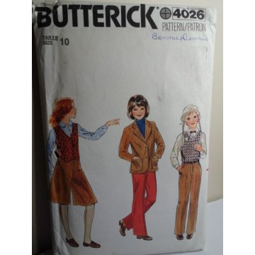 Butterick Sewing Pattern 4026