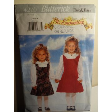 Butterick Sewing Pattern 4270