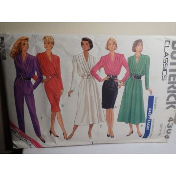 Butterick Sewing Pattern 4303