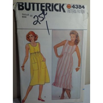 Butterick Sewing Pattern 4384
