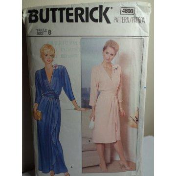 Butterick Sewing Pattern 4800