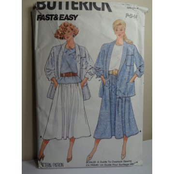 Butterick Sewing Pattern 4841
