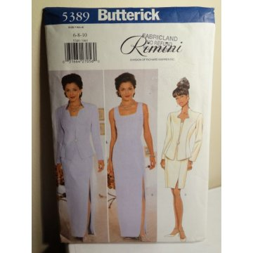 Butterick Sewing Pattern 5389