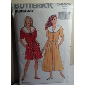 Butterick Sewing Pattern 5495