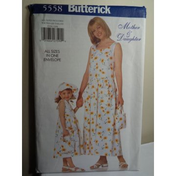 Butterick Sewing Pattern 5558