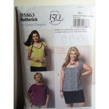 Butterick Sewing Pattern 5863