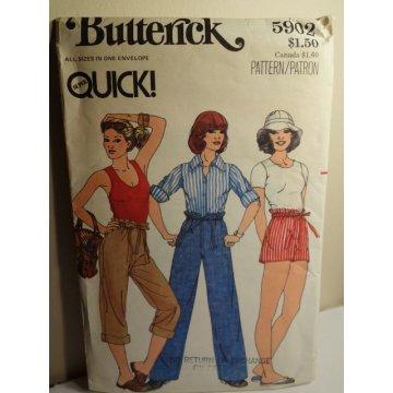 Butterick Sewing Pattern 5902