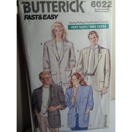 Butterick Sewing Pattern 6022
