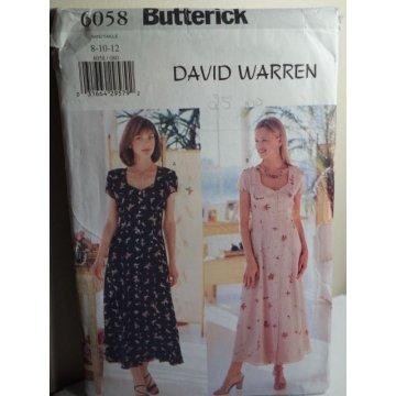 Butterick Sewing Pattern 6058