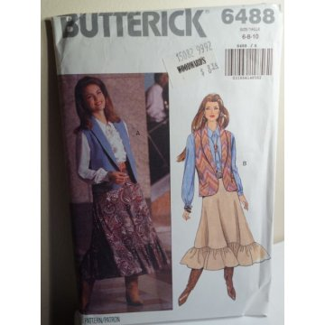 Butterick Sewing Pattern 6488