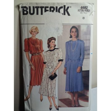 Butterick Sewing Pattern 6682