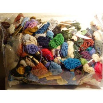 Tapestry Wool Yarn, Lots of 100 Plus, Assorted Brands.