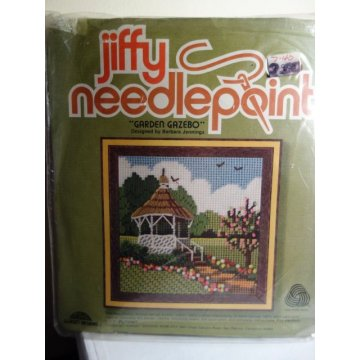 Jiffy Needlepoint, Garden Gazebo No. 5740
