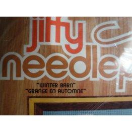 Jiffy Needlepoint, Winter Barn No. 5749CN