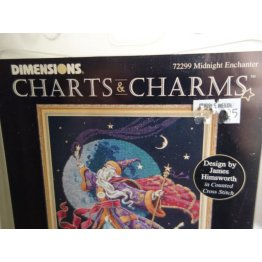 Dimensions Chart and Charms Cross Stitch Enchanter