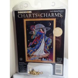 Dimensions Charts and Charms Cross Stitch Sorceress